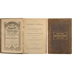 The Buyer's Manual and Business Guide…Pacific Coast, Price & Haley, 1872