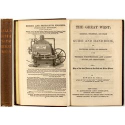 The Great West Railroad, Steamboat, and Stage Guide and Handbook, 1866