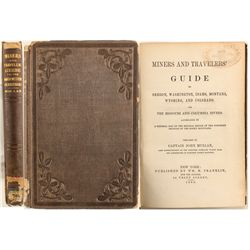 Miners and Travelers' Guide to the Northwestern Territories, Mullan, 1865