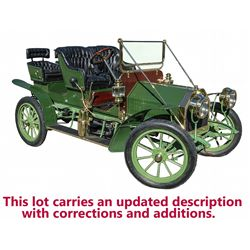 1907 Touring Cadillac, Model G, Factory Custom, Fully Restored