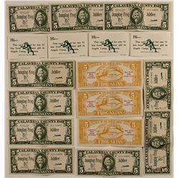 1958 Bank of Angels Camp Frog Skin Bucks (and a free kiss!)