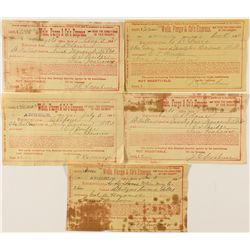 Wells , Fargo & Co. Express bullion shipments