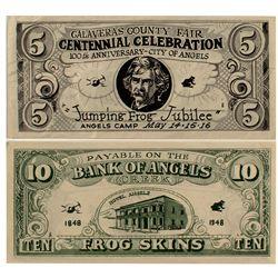 1948 Bank of Angels Creek FROG SKIN bucks