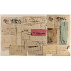 7 different San Francisco cigar envelopes