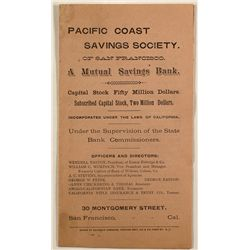 Pacific Coast Savings Society pamphlet