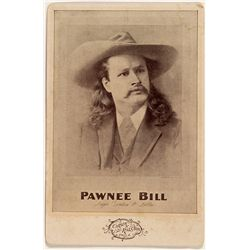 Pawnee Bill Cabinet Card