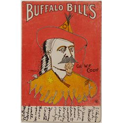 Buffalo Bill  Post Card