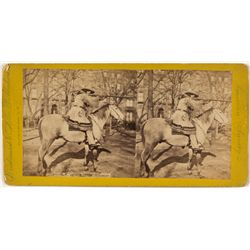 """Buffalo Bill"" Stereoview"