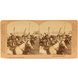 Buffalo Bill  Stereoview