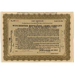 Winchester Preferred Stock Certificate