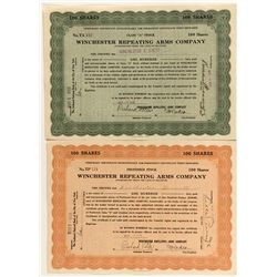 Winchester Stock Certificates