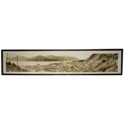 Alaska Gold Rush Panorama--Juneau, c.1914 by Sheelor