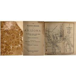 The Handbook to Arizona, Hinton, 1878, Signed