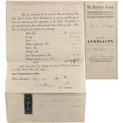 Alpine County Tax Document