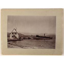 McKinney's Landing, Lake Tahoe Photograph