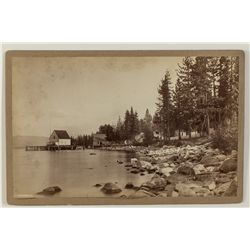 McKinney's Resort, Lake Tahoe Photograph by R.J. Waters