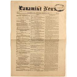 Panamint Newspaper March 18, 1875. Vol 1