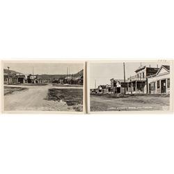 Two Bodie Street Scenes Frashers RPPC