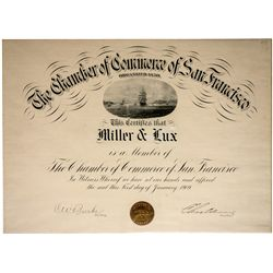 Chamber of Commerce of San Francisco: Miller & Lux
