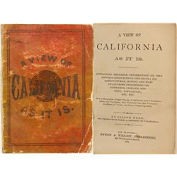 A View of California As It Is, Joseph Weed, 1874