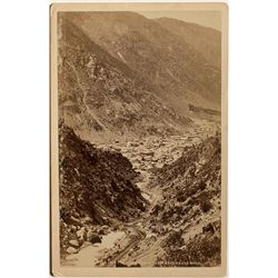 Early View of Georgetown, CO Cabinet Card
