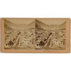 Georgetown, CO Stereoview