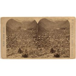Vista Over Georgetown, CO Stereoview