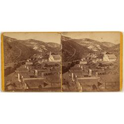 Bird's Eye View, Blackhawk, CO Stereoview
