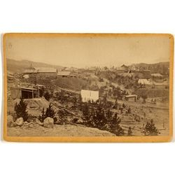 Fryer Hill, Leadville, CO Cabinet Card, by Wakely