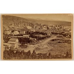 Leadville, CO Cabinet Card by Wakely