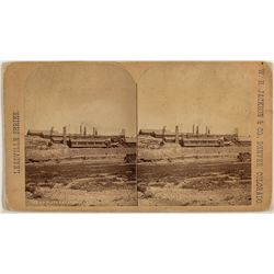 Smelting Works, Leadville, CO Stereoview