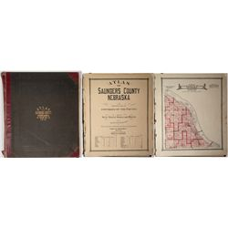 Atlas of Saunders County, Nebraska