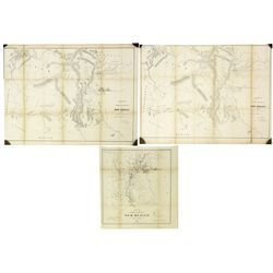 3 New Mexico Maps, 1859, 1860, 1863