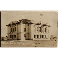Clark County Court House Photo Post Card