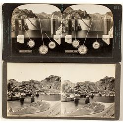 Boulder Dam Stereoviews