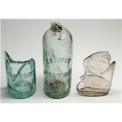 Rare Tonopah Embossed Bottle Parts