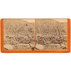 Panorama of Virginia City Stereoview