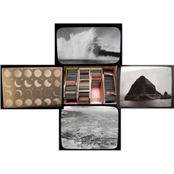 Glass Lantern Geology Slides Assortment