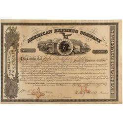 American Express Co. Stock Certificate 1864