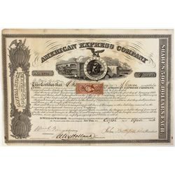 American Express Co. Stock Certificate 1865