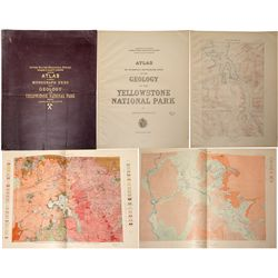 Atlas of the Geology of Yellowstone National Park
