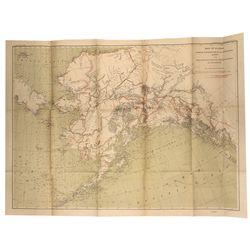 1898 Alaska survey routes