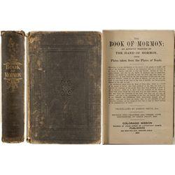 Book of Mormon; Colorado Mission