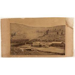 Hot Springs/Bath Photograph c. 1880