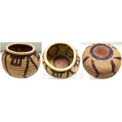 Small sized Panamint basket