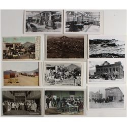 11 Goldfield, Nevada postcards