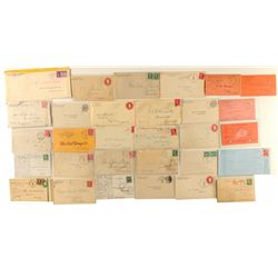 Churchill, Douglas, Lyon county postal history