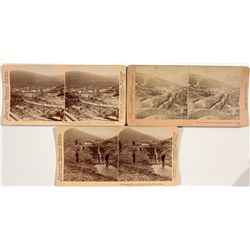 Alaska Mining Stereoviews