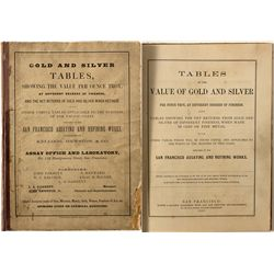 Gold & Silver Tables for Assaying Book