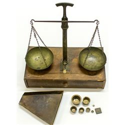 Large miner's scale, 1900-1920